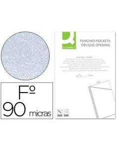 Funda corte oblicuo 290x195 mm cristal 4T pvc 90 mc caja de 100 unid KF06041