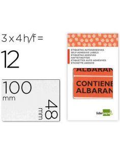 Etiquetas contiene albaran sobre de 4 h 100x48mm EA01