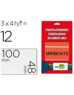 Etiquetas urgente sobre de 4 h 100x48mm 100x48mm EU01