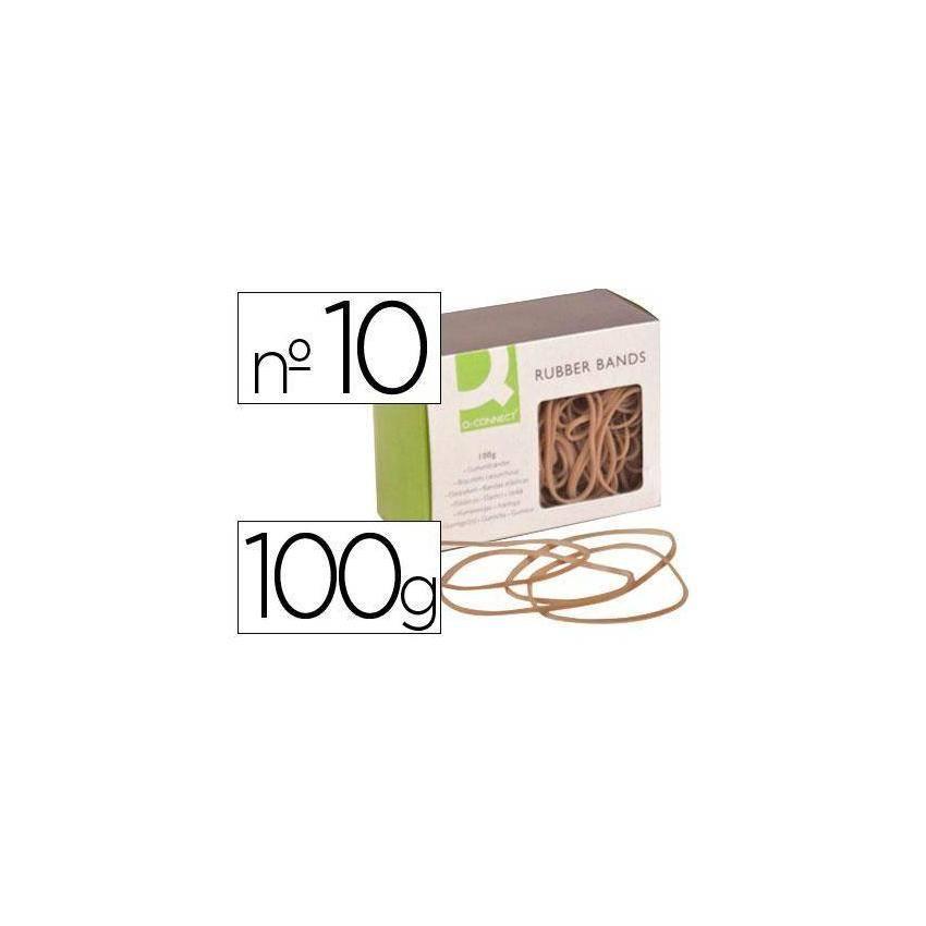 Gomas elásticas 100 gr numero 10 100 x 2 mm KF15046