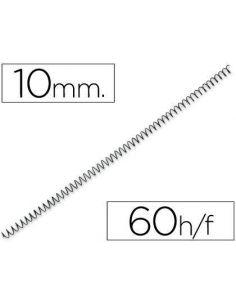 Espiral metalico 64 5:1 10mm 1mm (200 unid) KF04429