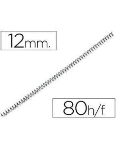 Espiral metalico 64 5:1 12mm 1mm (200 unid) KF04430