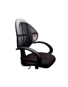Soporte lumbar ergonomico sujecion elastica 403x160x403mm KF15413