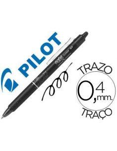 Bolígrafo Pilot NEGRO borrable Frixion Clicker 0,4mm BLRT-FR7-B