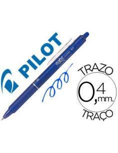 Bolígrafo Pilot Azul borrable Frixion Clicker 0,4mm BLRT-FR7-L