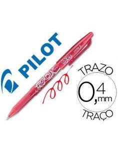 Bolígrafo Frixion Rojo Trazo 0,4mm Pilot BL-FR7-R
