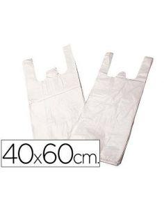 Bolsas de plastico tipo camiseta 40x60cm (200 Unid) Blanco 523714