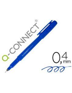 Rotulador punta de fibra fine liner azul 0.4mm KF25008
