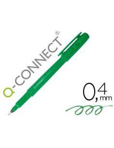 Rotulador punta de fibra fine liner verde 0.4mm KF25010