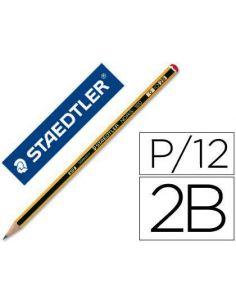 Lapiz Noris Staedtler 120 Madera 2B Grafito Hexagonal 095753