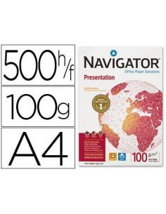 Papel A4 Multifuncion Navigator 500h 100g/m² Presentation