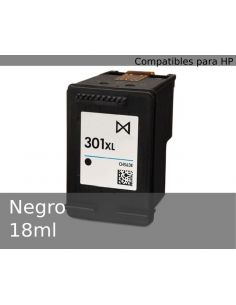 Tinta para HP Negro Nº301XL (18ml)(No original)