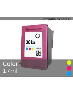 Tinta para HP Color Nº301XL (17ml)(No original)