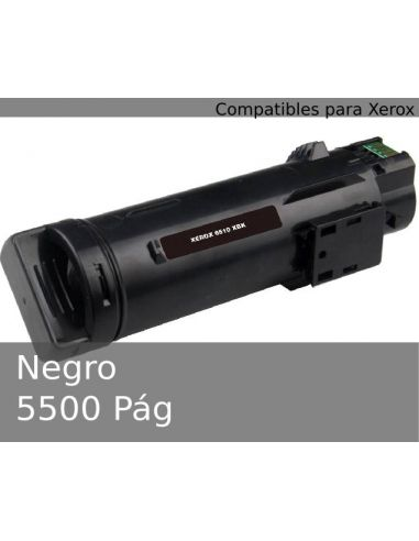 Tóner para Xerox 106R03480 Negro (5500 Pág) No original