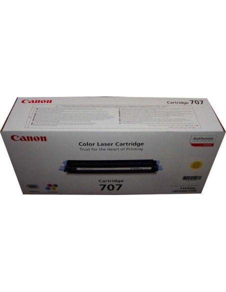 Tóner Canon 707Y Amarillo 9421A004 para LBP5000
