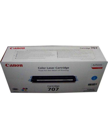 Tóner 9423A004 Canon CRG-707C Cian para LBP5000