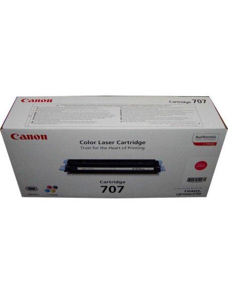 Tóner 9422A004 Canon CRG-707M Magenta para LBP5000