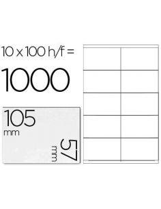 Etiquetas 105x57 A4 (100h x 10 etiq)