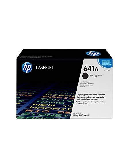 Tóner HP 641A Negro (9000 Pag) para Laserjet 4600 y mas