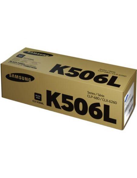 Tóner Samsung K506L Negro (6000 Pag) para CLP680 CLX6260