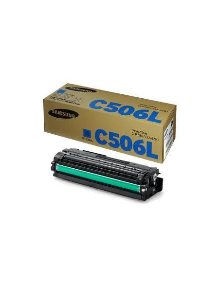 Tóner Samsung C506L Cian SU038A para CLP680 CLX6260