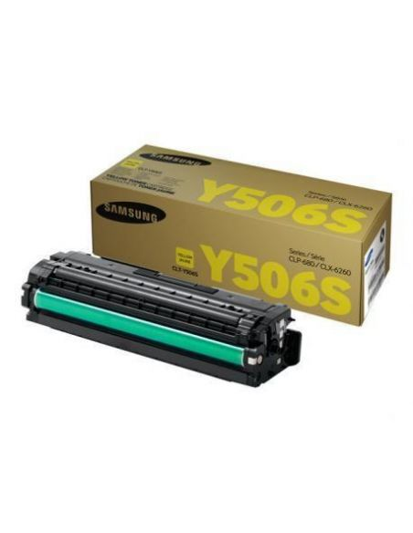 Tóner Samsung Y506S Amarillo SU524A para CLP680 CLX6260