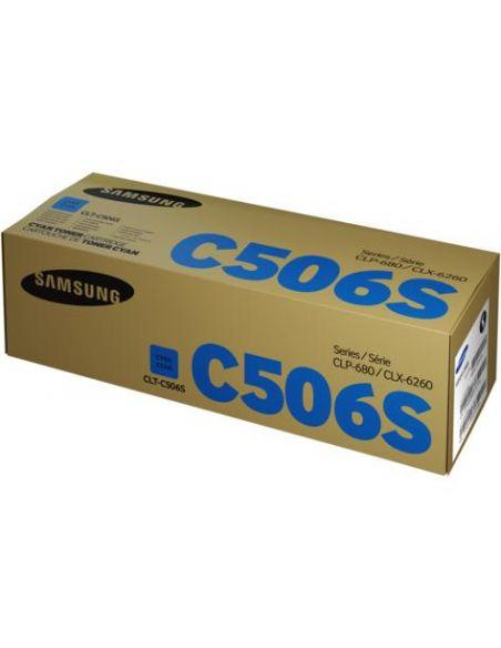 Tóner Samsung C506S CIAN (1500 Pag) para CLP680 y mas