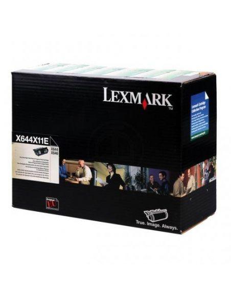 Tóner X644X11E Lexmark Negro para X644 646
