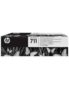 Cabezal HP 711 Negro/Cian/Magenta/Amarillo C1Q10A
