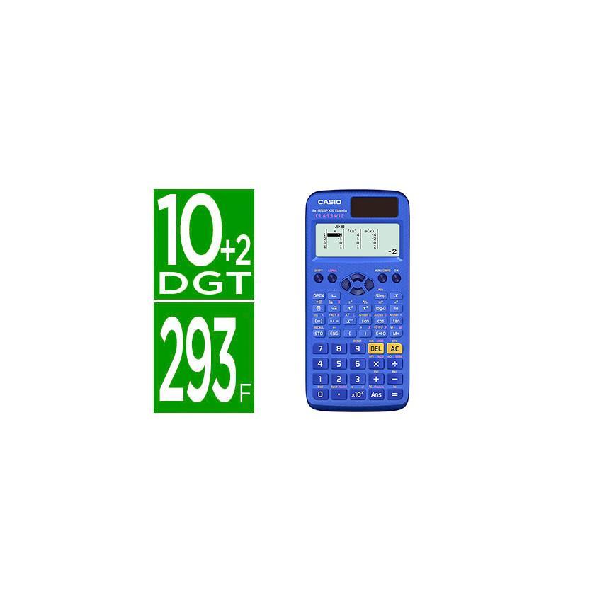 85517040cacd Calculadora casio fx-85spx ii iberia classwiz cientifica 293