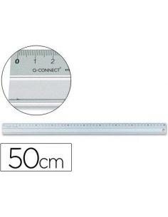 Regla metalica aluminio 50 cm KF00288