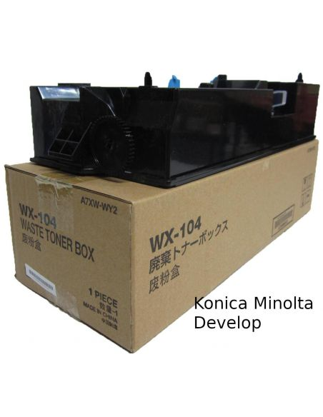 Contenedor residual A7XWWY2 para Konica Minolta WX-104