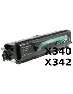 Tóner para Lexmark X340-X342 Negro (6000 Pág) No original