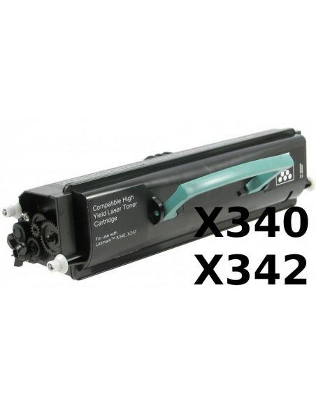 Tóner para Lexmark X340H11G Negro (6000 Pag) No original para X340 X342