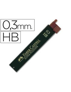 Minas faber grafito 0,3mm HB (12 minas) 9063 HB / 120300