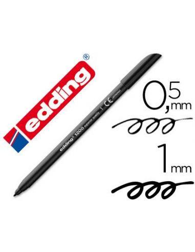 Rotulador Edding 1200-01 Negro 1mm