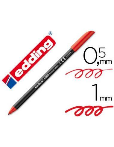 Rotulador Edding 1200-02 Rojo 1mm
