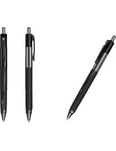 Boligrafo retractil negro trazo 0,5 mm 960984