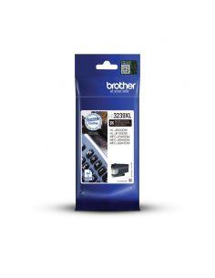 Tinta Brother LC3239XLBK Negro (6000 Pág)