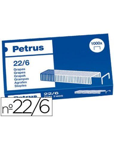 Grapas petrus nº 22/6 (caja de 1000) 55721