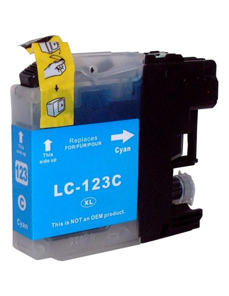 Tinta para Brother LC123C CIAN (10ml)No original