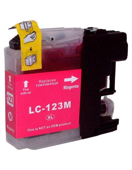 Tinta para Brother LC123M MAGENTA (10ml)No original