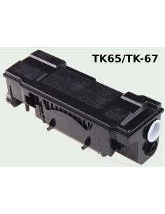 Kyocera TK-65/TK-67 TÓNER Negro No original 370QD0KX FS3820 3830