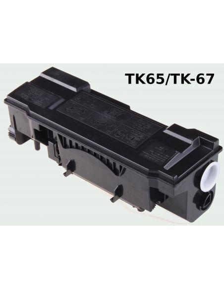 Tóner para Kyocera TK-65/TK-67 Negro (20000 Pag) No original FS3820 y mas