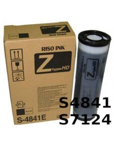 Tinta Riso S4841E/S7124E Negro HD (2x1000ml)
