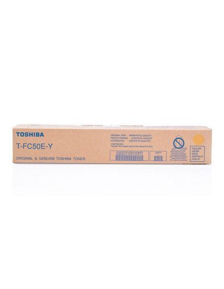 Tóner Toshiba T-FC50E-Y AMARILLO (33000 Pag) para e-Studio 2555 y mas