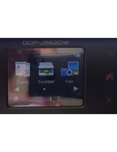 Limpieza de cabezal de impresora DCP-J562