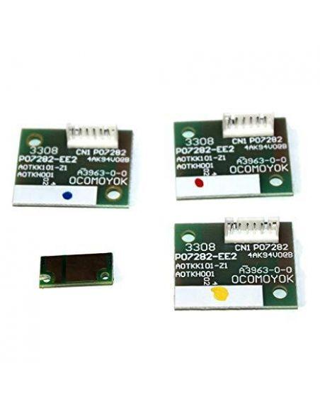 Chip para Konica Minolta C452K Negro para resetear Unidad de imagen para Bizhub C452