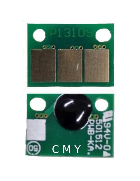 Chip DR313CMY para Konica Minolta/Develop Cian Magenta Amarillo (1 unidad)