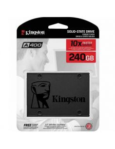 "Disco Duro Kingston SA400S37/240G Solido SSD 240GB 2.5"" SATA3 A400 (+LPI 5,45€)"